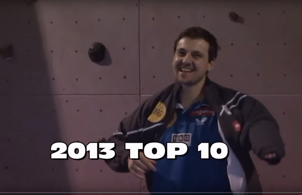 2013 Top 10 Table Tennis Shots